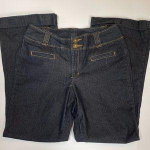 PLUS SIZE 14 Bisou Bisou Wide Leg Demin Trousers